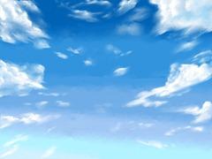【図】「背景」+「雲」│12ヶ月連続イラスト12枚目