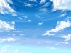 【図】「背景」+「雲」+「空気」│12ヶ月連続イラスト12枚目