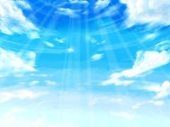 【図】「背景」+「背景2」+「空気」+「雲」+「光」+「光」│12ヶ月連続イラスト12枚目