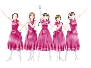 【図】メイキング:LAST Aice5感想イラスト・えんじ色衣装Ⅱ編(9)フィルタ加工した「色・効果」レイヤ