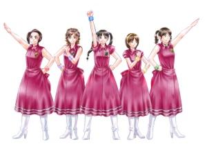 【図】メイキング:LAST Aice5感想イラスト・えんじ色衣装Ⅱ編(9)線画のフィルタ加工終了