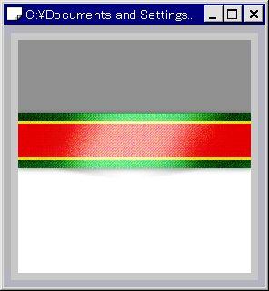 【図】背景色を変更して、透明になったか確認│「Pixiaでリボン画像を作る」