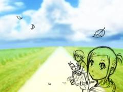 【図】2009年秋トップ絵:下描き