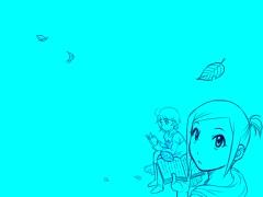 【図】「線画・効果」レイヤの透過色プレーン